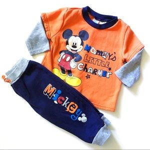 Disney | Mickey Mouse Outfit Set 18Mo. VGUC